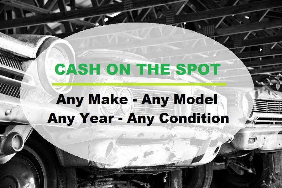 Sell Us Your Junk Vehicle Today! 317-450-3721